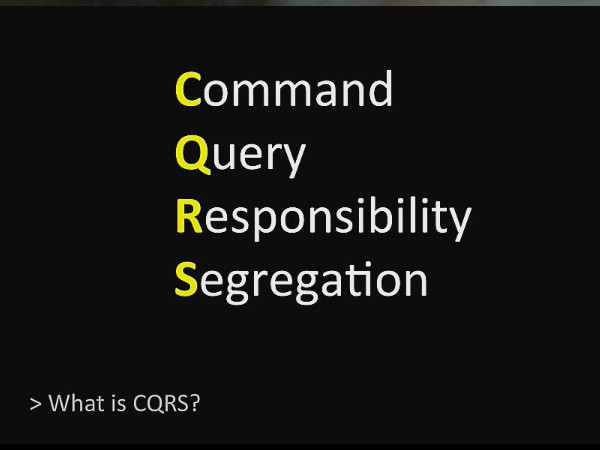 CQRS with Erlang
